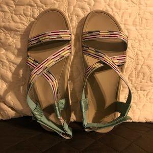 USED Teva Women's Terra Float Livia Sandal